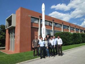 Visita all'ESRIN, sede di Frascati dell'Agenzia Spaziale Europea (ESA)